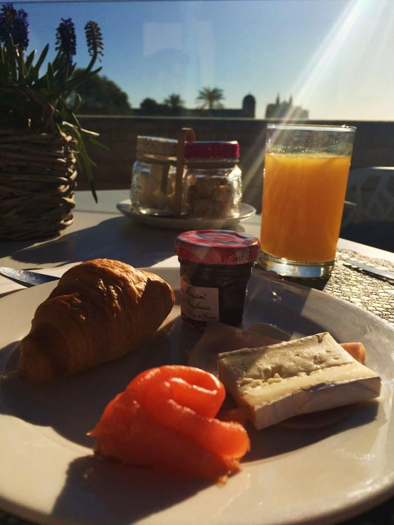 desayuno sky bar cuba Mallorca